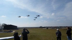 Sea King Helicopters
